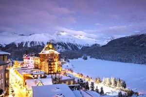 Badrutt's Palace St- Moritz Schweiz
