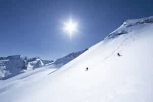 Skitour Eiskoegele, Oetztaler Alpen, Tirol, Oesterreich.